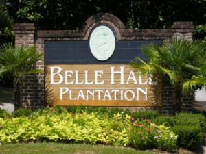 Belle Hall Plantation in Mount Pleasant, SC