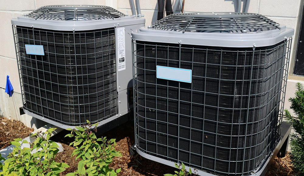 Outdoor Central Air Conditioning Fan Units
