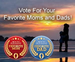 Vote for your favorite moms and dads in Daniel Island, Mount Pleasant, Isle Of Palms, Sullivan's Island, Awendaw and McClellanville.